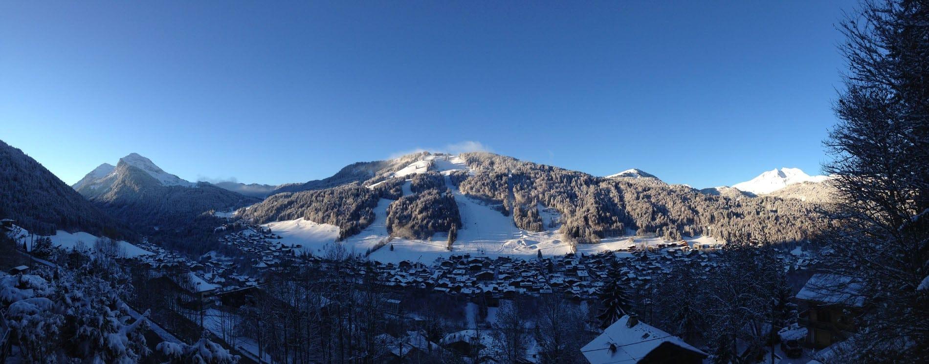 Morzine Snowy Mountain