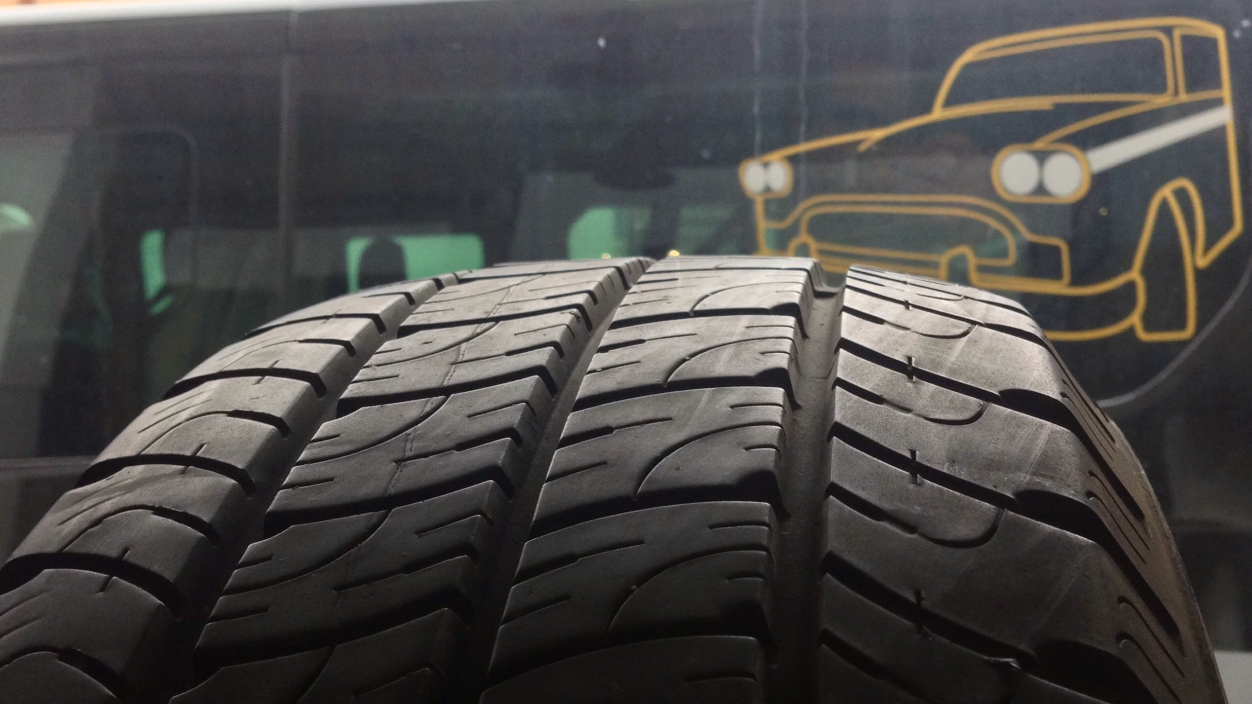 We fit summer tyres to all 4 wheels of our PowderCab minibuses for the warmer and dryer summer months of our transfer services from Geneva to Morzine