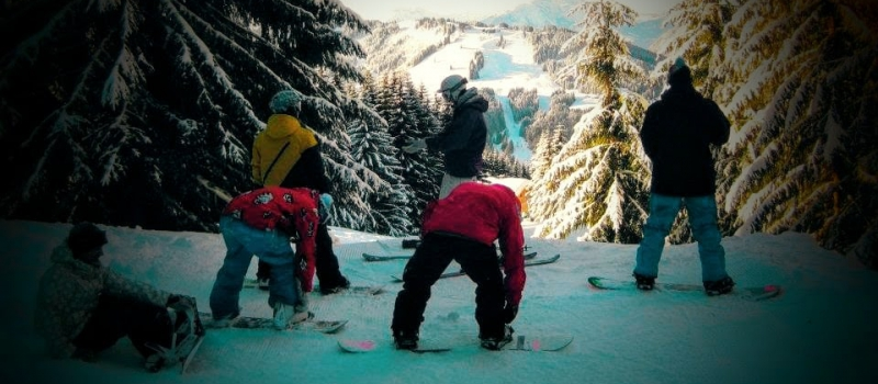 FaceBook pic of snowboarders Chopped (1)