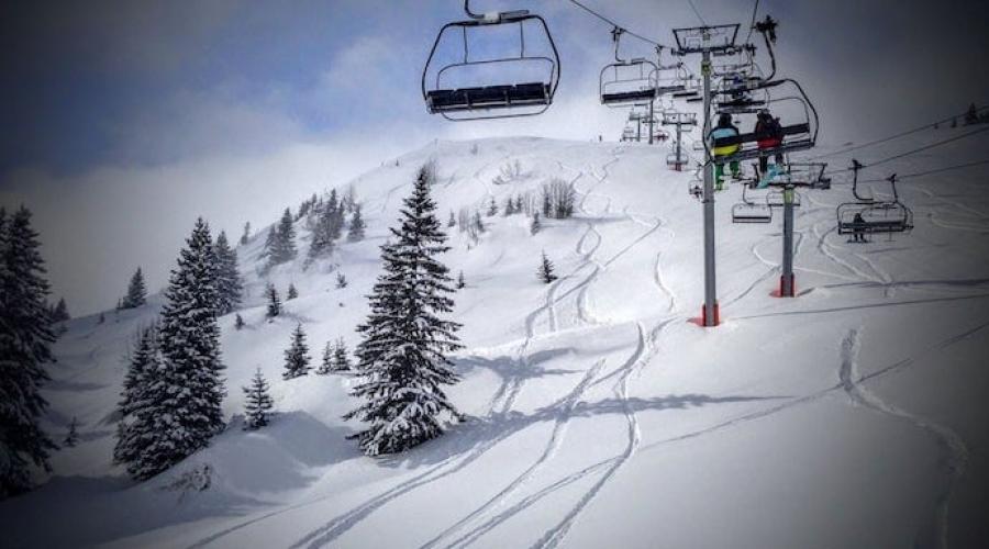 Montriond Ski Slopes